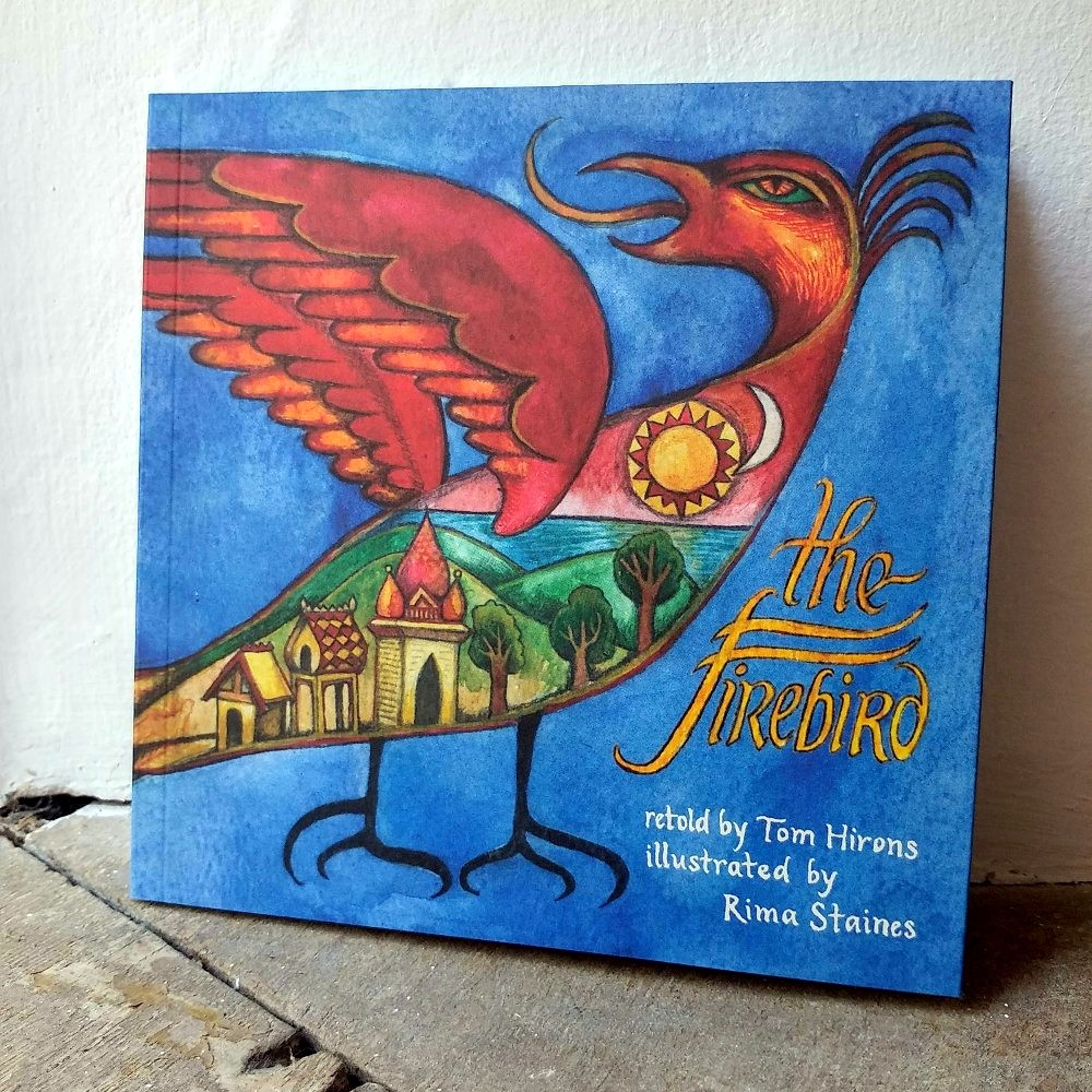 The Firebird, out now from Hedgespoken Press