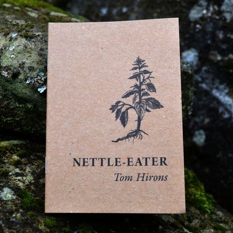 Nettle-Eater book by Tom Hirons from Hedgespoken Press